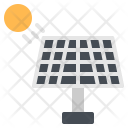 Solar Cell Energy Icon