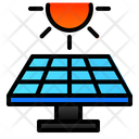 Solar Cell Green Icon