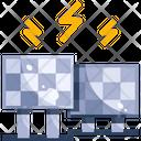 Solar Panel Ecology Energy Icon