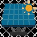 Solar Panel Solar Cell Renewable Electricity Icon