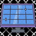 Solar Panel Battery Icon