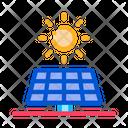 Action Sun Battery Icon
