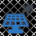 Solar Energy Power Icon