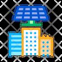 Smart City Solar Icon