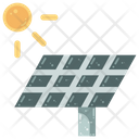 Solar Energy Cell Icon