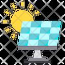 Solar Sun Energy Icon