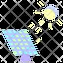 Solar Panel Solar Energy Sun Icon