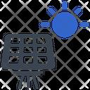 Energy Solar Panel Icon