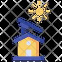 Solar Panel Smart Home Solar Energy Icon