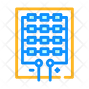 Solar Panel Structure Icon