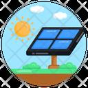 Solar Panel Photovoltaic Solar Cell Icon