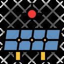 Solar Panel Solar Energy Clean Energy Icon