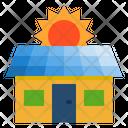 Solar Panel Solar Cell Smarthome Icon