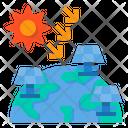 Solar Panel Solar Energy Technology Icon
