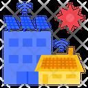 Solar Panel Solar Power Energy Icon