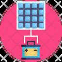 Solar Energy Solar Panel Battery Icon