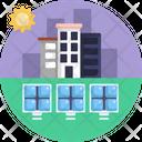 Solar Energy Solar Panel Clean Energy Icon