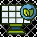 Solar Panel Panel Energy Icon