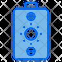 Battery Solar Panel Energy Icon