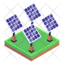 Solar System Solar Panels Solar Collectors Icon
