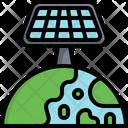 Solar Planet Icon