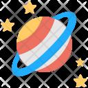 Stars Solar Planet Icon