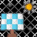 A Solar Plant Icon