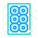 Sun Concentrator Photovoltaic Icon