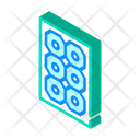 Sun Concentrator Isometric Icon