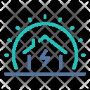 House Sun Energy Icon