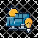 Solar Power Station Icon