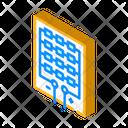 Solar Panel Structure Icon
