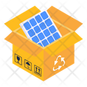 Solar Recycle Icon
