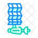 Satellite Solar Panel Icon