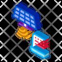 Solar Signal Transmission Icon