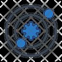 Sun Radar Universe Icon