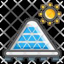 Spin Solar Energy Icon