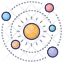 Solor System Science Icon