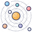 System Galaxy Planets Icon