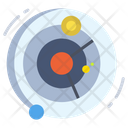 Solar System Astronomy Space Icon