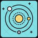 Solar System Galaxy Planetary Icon
