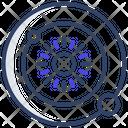 Planet Revolution Astrography Astrophysics Icon
