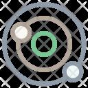 Solar System Orbit Icon