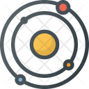 Solar System Space Icon