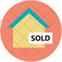 Sold Property Home Icon