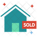 Sold House Home Icon