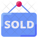 Sold House Property Icon