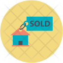 Sold Property House Icon