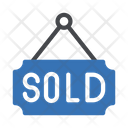 Sold Board Auction Icon