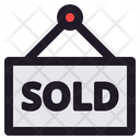 Sold Business Store Icon